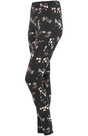 Picture of Amorie Leggings Black/Rose