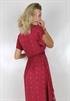 Bild på Ariana Wrap Dress Raspberry