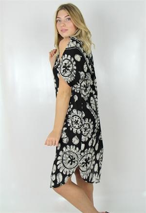 Bild på Bazaar Dress Black/Sand 106:- ex moms