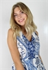 Bild på Celeste Dress Dream Blue/Creme 119,50 ex moms