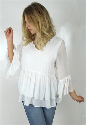 Kuva Chantelle Tunic Antique Creme