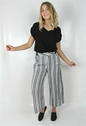 Kuva Gianna Pants Black/Creme