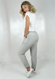 Picture of Lina Pants Linen Grey