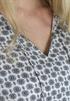 Bild på Lois Blouse Asphalt/Creme 79,50 ex moms