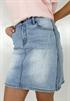 Bild på Stacie Jeans Skirt Light Blue Denim 119,50 ex moms