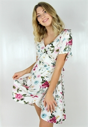 Picture of Dahlia Dress White/Rosebud