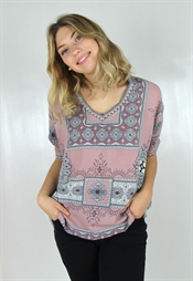 Bild på Diamond Tunic Rose Blush/Deep Blue