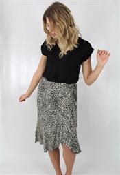 Bild på Sheela Wrap Skirt Sand/Black/Coffee 99,50 ex moms
