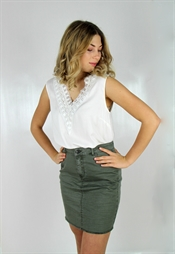 Picture of Butterfly Skirt Khaki Green