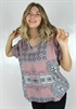 Kuva Diamond Tunic Rose Blush/Deep Blue