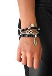 Kuva Billie Bracelet Black/Silver