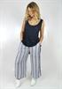 Bild på Gianna Pants Dove Blue/White 99,50 ex moms