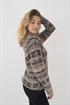 Bild på Aspen Sweater Sandstone/Black