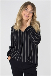 Picture of Michelle Blouse Black/Sandstone