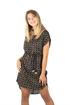 Bild på Deia Dress Black/Olive/Creme