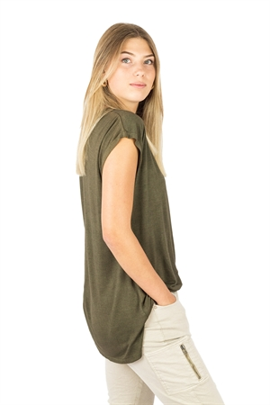 Picture of Leyla Top Khaki Green