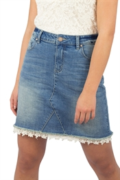 Picture of Venezia Skirt Blue Denim