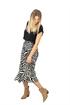 Bild på Indira Skirt Black/Sandstone