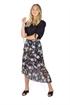 Picture of Floria Skirt Black/Rose/Magnolia