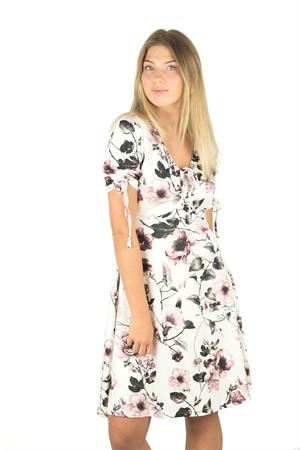 Bild på Hilma Dress Creme/Magnolia/Khaki Green