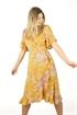 Picture of Liv Dress Sun Yellow/Rosebud