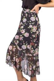 Picture of Floria Skirt Black/Rose/Magnolia