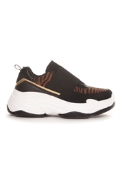 Picture of Missy Sneaker Black/Brown