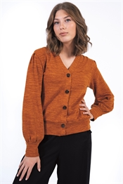 Picture of Gemini Cardigan Dark Saffron