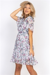 Picture of Violette Dress Dream Blue/Lavender/Rose Blush