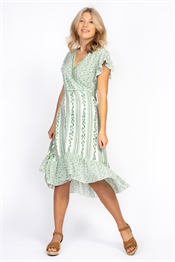 Picture of Irma Dress Jade Green