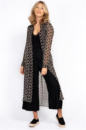 Bild på Inca Long Shirt Black/Sandstone