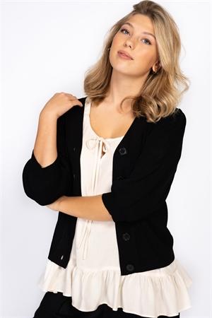 Picture of Demi Cardigan - Black