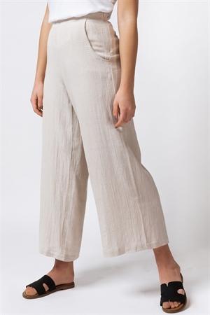 Bild på Thalia Linen Pants Linen Sand