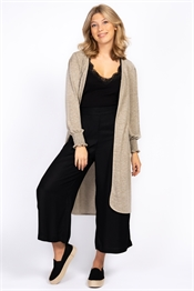 Picture of Feline Cardigan Linen Beige