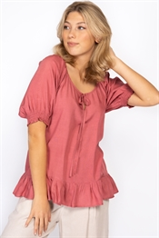 Picture of Ingrid Blouse Peach Rose