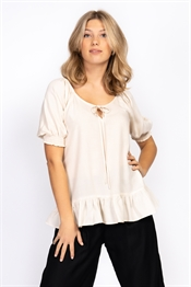 Picture of Ingrid Blouse - Sand