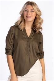 Picture of Bonnie Shirt - Khaki Green