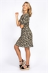 Picture of Daisie Dress - Black/Sand/Sun Yellow
