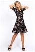 Bild på Keira Dress - Black/Rose/Creme