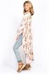 Picture of Malva Kaftan Dress Champagne/Rose