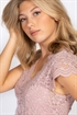 Picture of Verona Lace Top Rose Blush