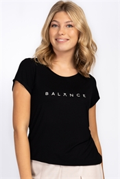 Picture of Balance Tee Black