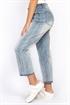 Bild på Jill High Waist Jeans Light Blue Denim