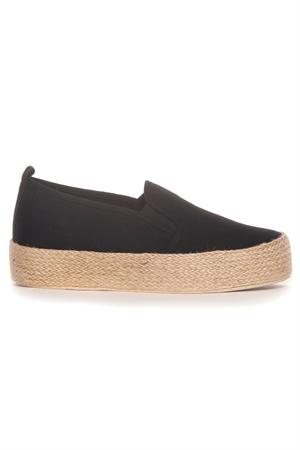 Picture of Kate Slip On Shoe Black