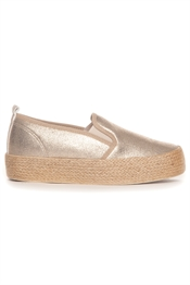 Picture of Kate Slip On Shoe Gold