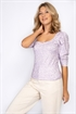 Picture of Niki Top Lavender