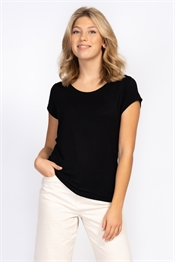 Picture of Tuva Tee Black