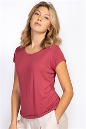 Picture of Tuva Tee Peach Rose