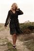 Picture of Jenna Dress - Black/Sand