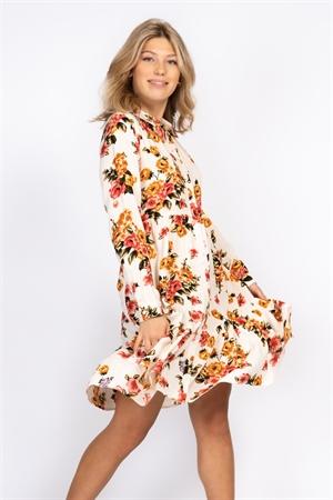 Bild på Pauline Dress Creme/Amber/Rose
